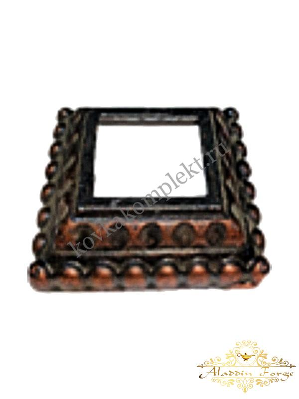 Декоративное основание (подпятник) 9 х 9 см (арт. 3409)