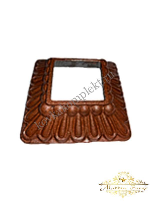 Декоративное основание (подпятник) 9,5 х 9,5 см (арт. 3411)