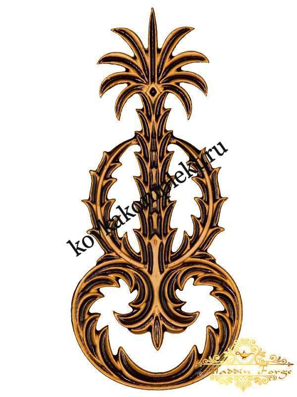 Декоративный узор 12 х 26 см (арт. 3259)