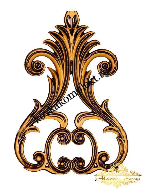 Декоративный узор 21 х 23 см (арт. 3281)