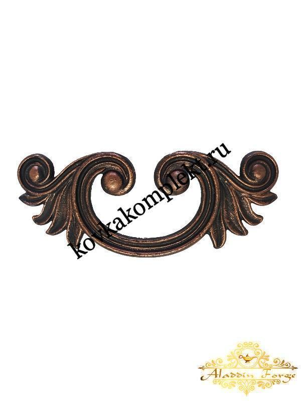 Декоративный узор 9 х 22 см (арт. 3262)