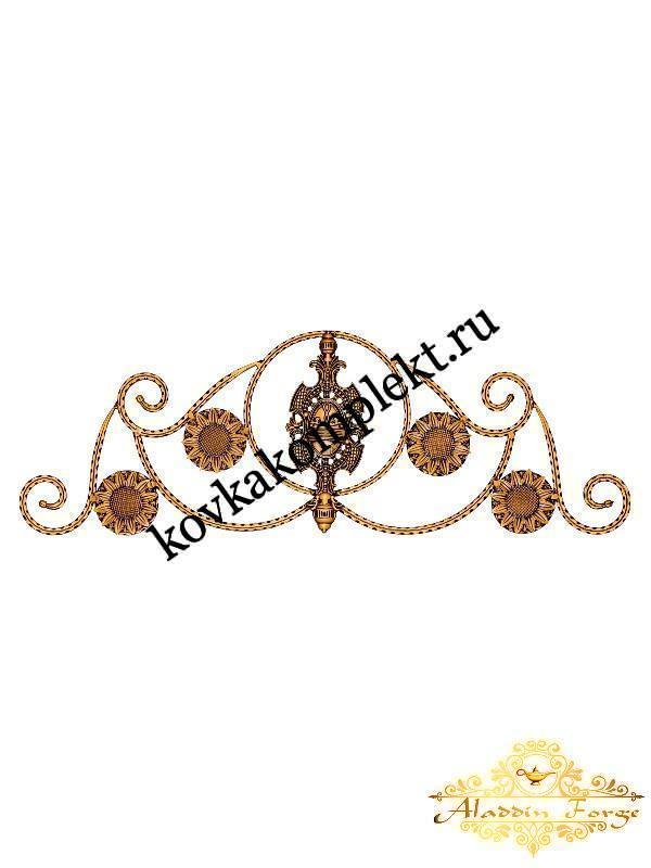 Корона 40 х 110 см (арт. 5110)