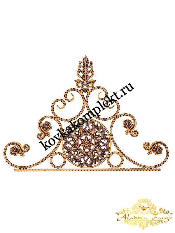 Корона 60 х 90 см (арт. 5115)