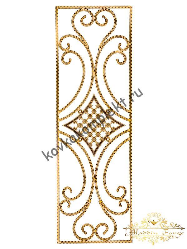 Панель декоративная 40 х 125 см (арт. 6271)
