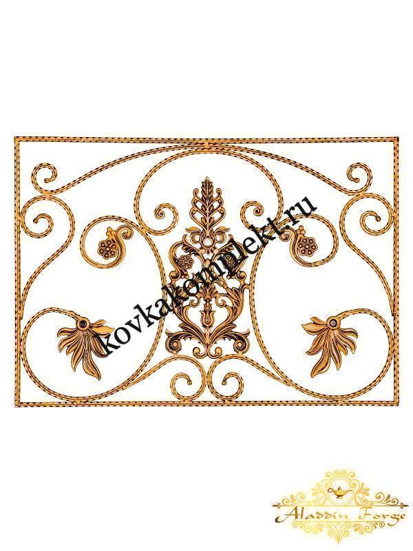 Панель декоративная 70 х 100 см (арт. 6390)