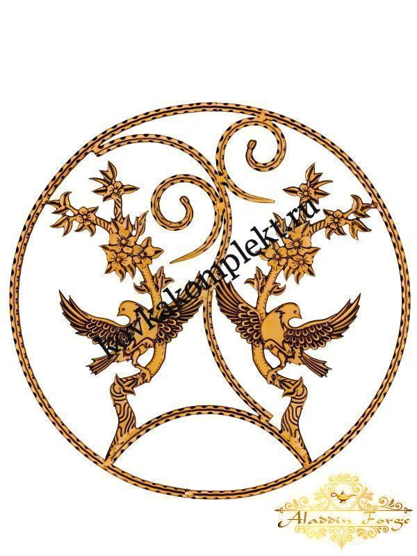 Розетка кованая 61 х 61 см (арт. 8115)