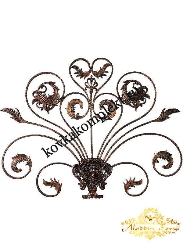 Розетка кованая 90 х 115 см (арт. 8121)