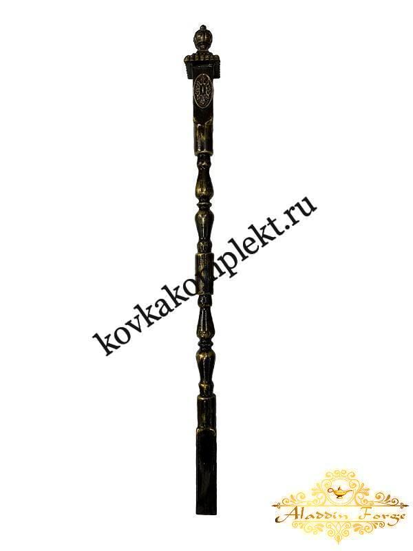 Столб кованый для перил 7,5 х 110 см (арт. 1504)