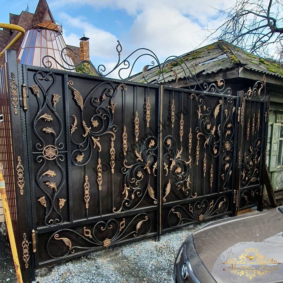 Ворота кованые, железные