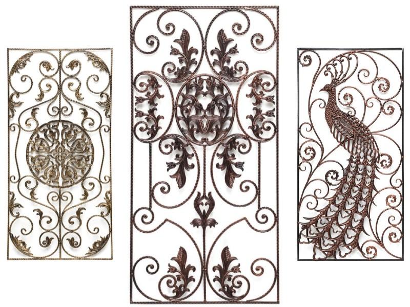Кованые декоративные панели на банер