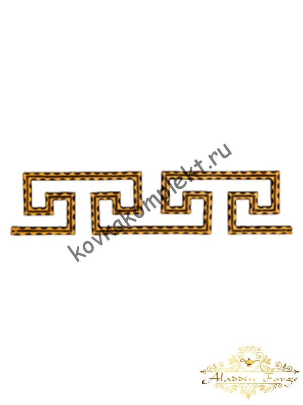 Декоративный узор (полоса) 46,5 х 10,5 см (арт. 3541)