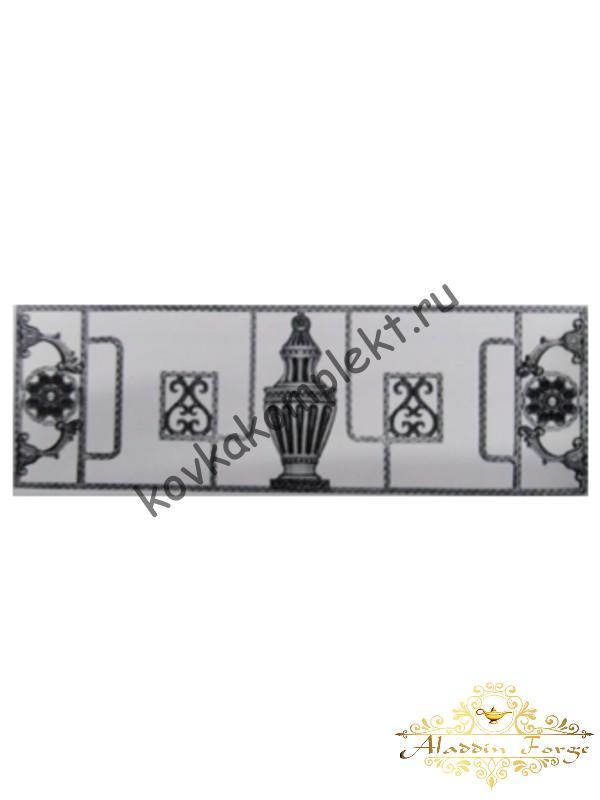 Панель декоративная 125 х 40 см (арт. 6693)