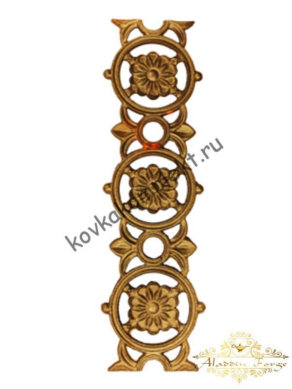 Декоративный элемент 12 х 41.5 см (арт. 3296)