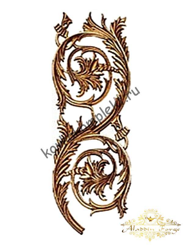 Декоративная накладка 19,5 х 54,5 см (арт. 3572)