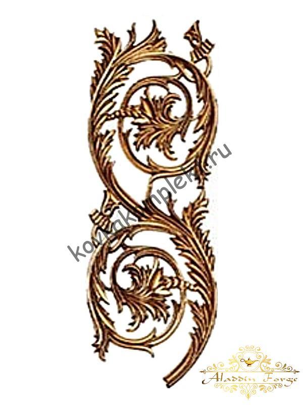 Декоративная накладка 19,5 х 54,5 см (арт. 3572/1)