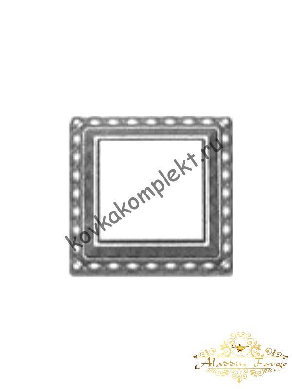 Декоративное основание (подпятник) 10,5 х 10,5 см (арт. 4300)