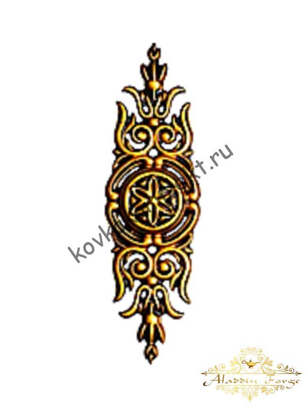 Декоративная накладка 8 х 28 см (арт. 3528)
