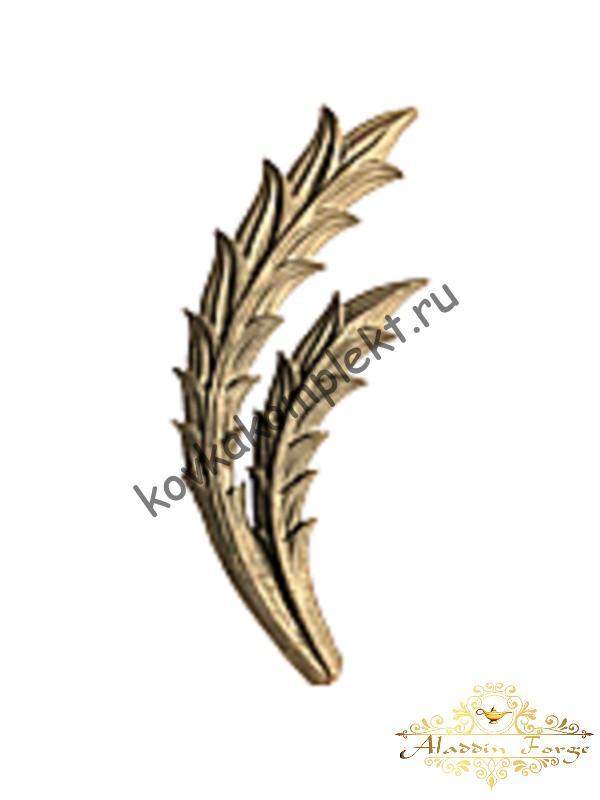 Декоративная накладка 10 х 26 см (арт. 3559)