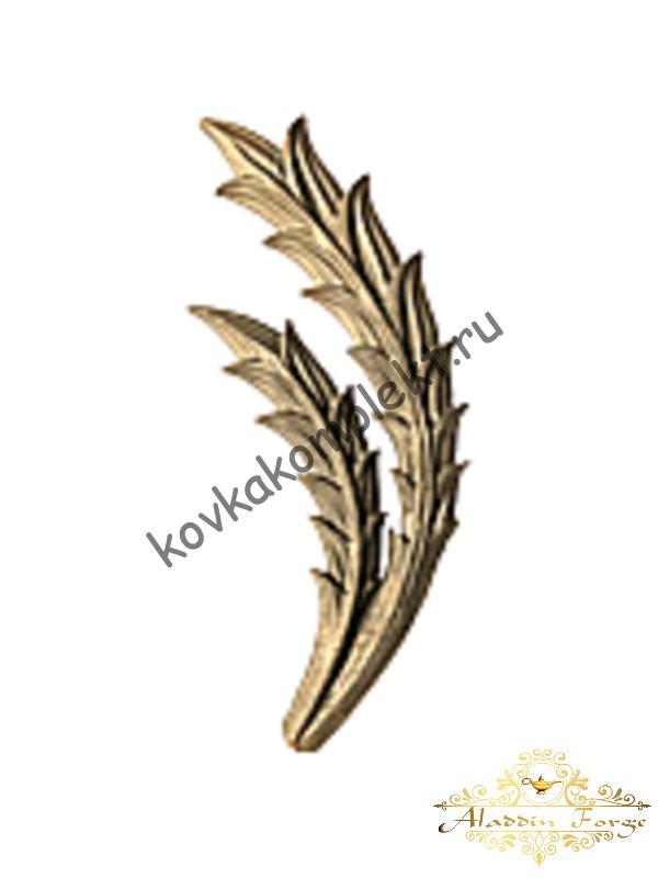 Декоративная накладка 10 х 26 см (арт. 3559/1)