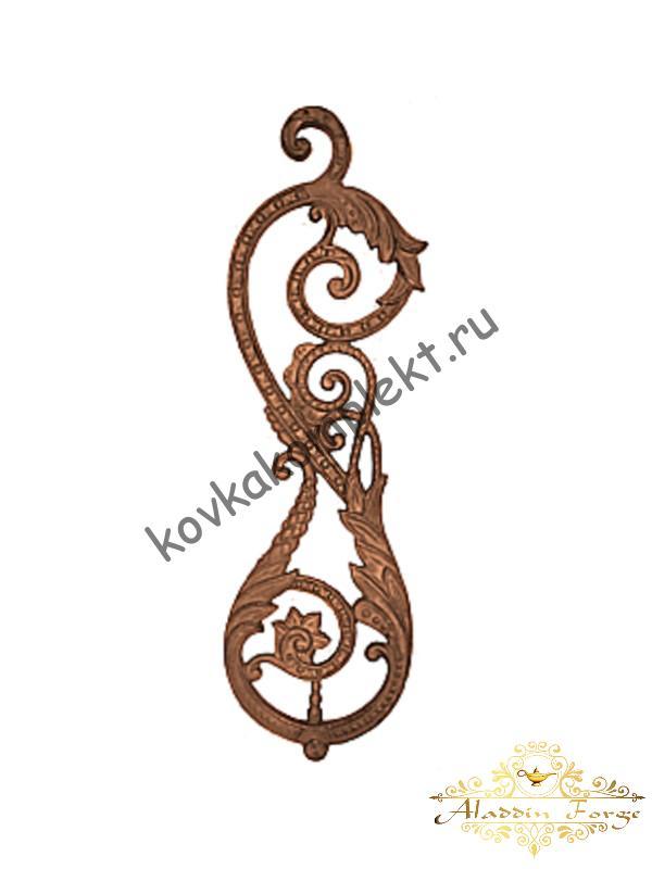 Декоративный элемент 18 х 63,5 см (арт. 1515)