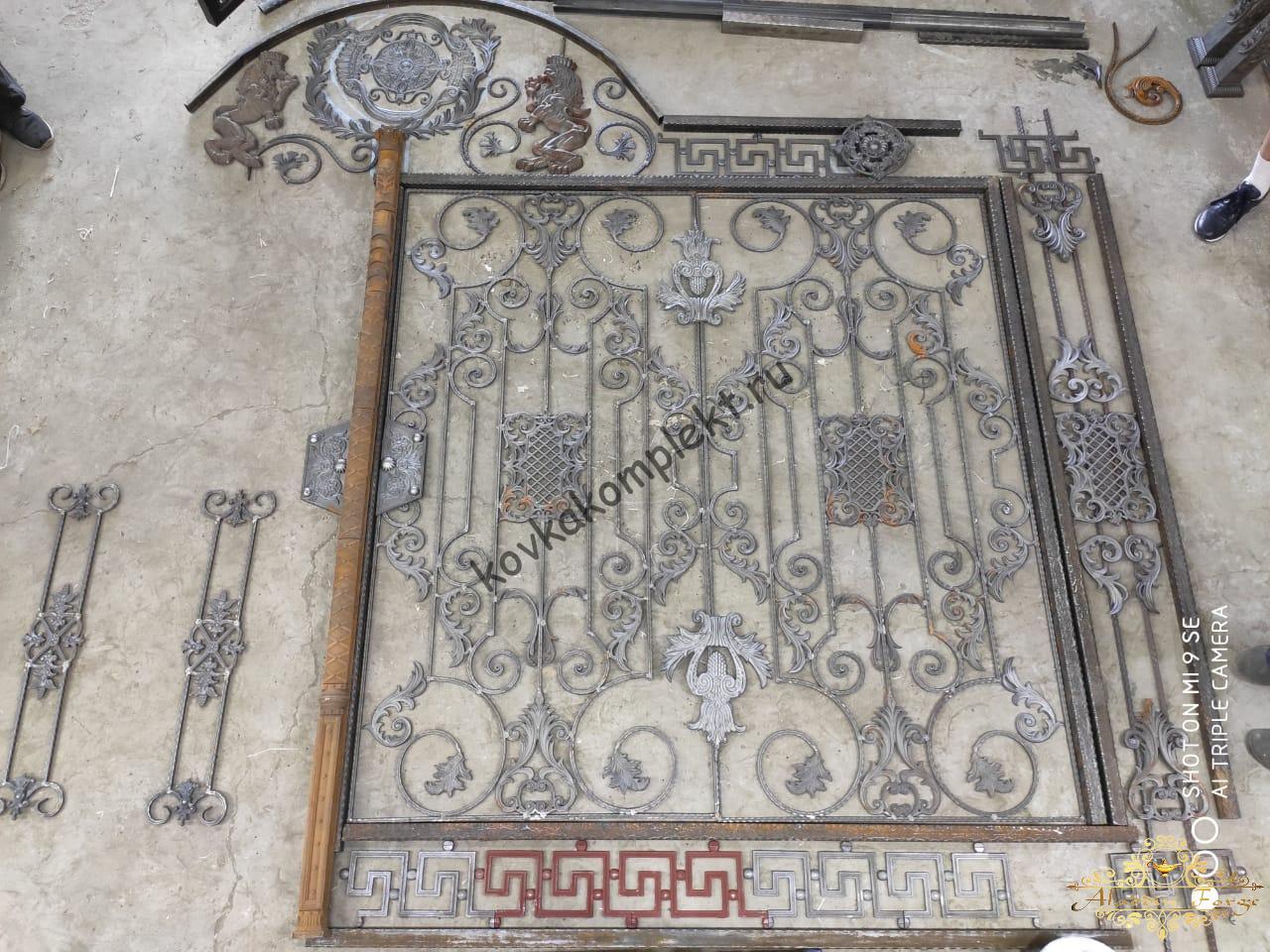 Эскизы (проекты) готовых изделий из иранской ковки