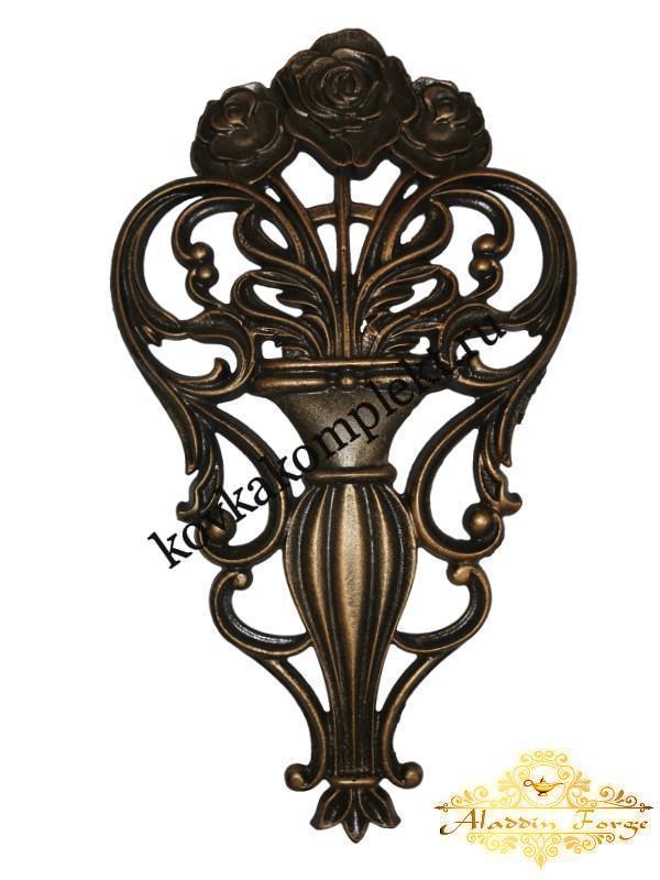 Декоративная накладка 23 х 39,5 см (арт. 3554)