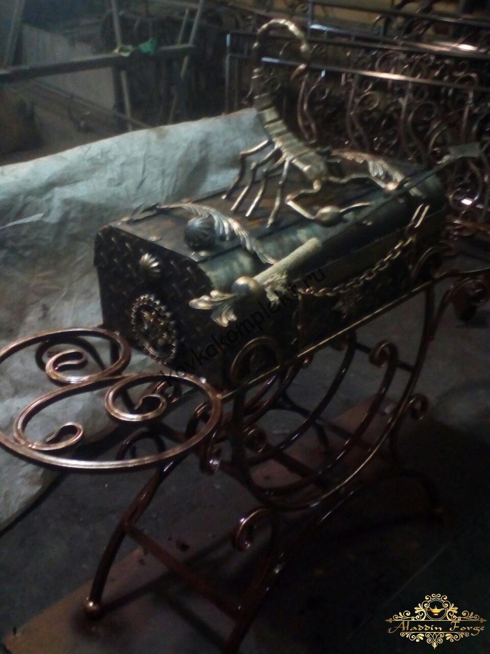 Кованые и железные мангалы
