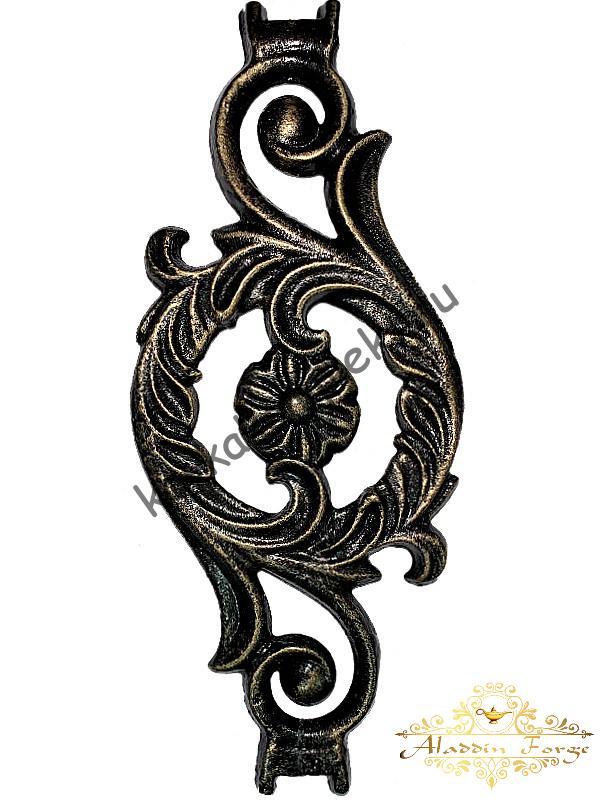 Вставка балясины 9,5 х 22 см (арт. 1135/2)