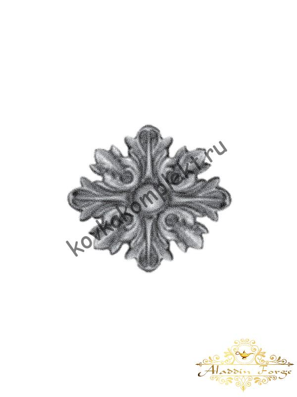 Декоративная накладка 11,5 х 11,5 см (арт. 4487)