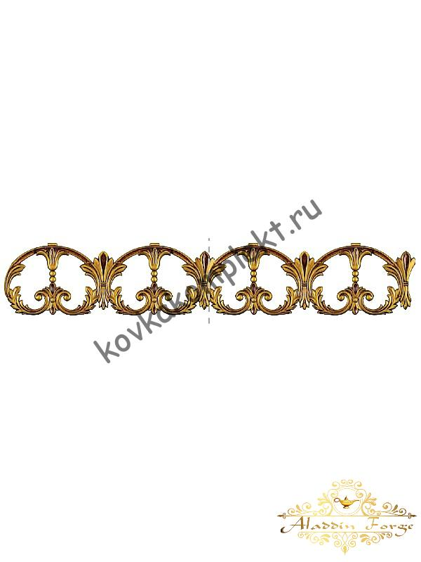 Декоративный узор (полоса) 59 х 20 см (арт. 4038/1)