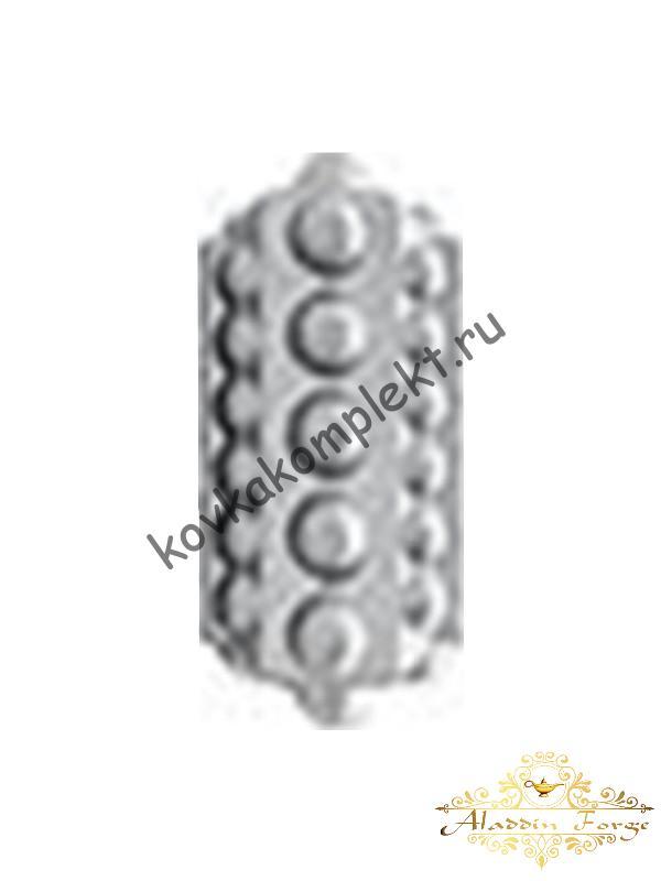 Декоративный узор 8,5 х 8,5 см (вставка на столб 50*50) (арт. 4308)