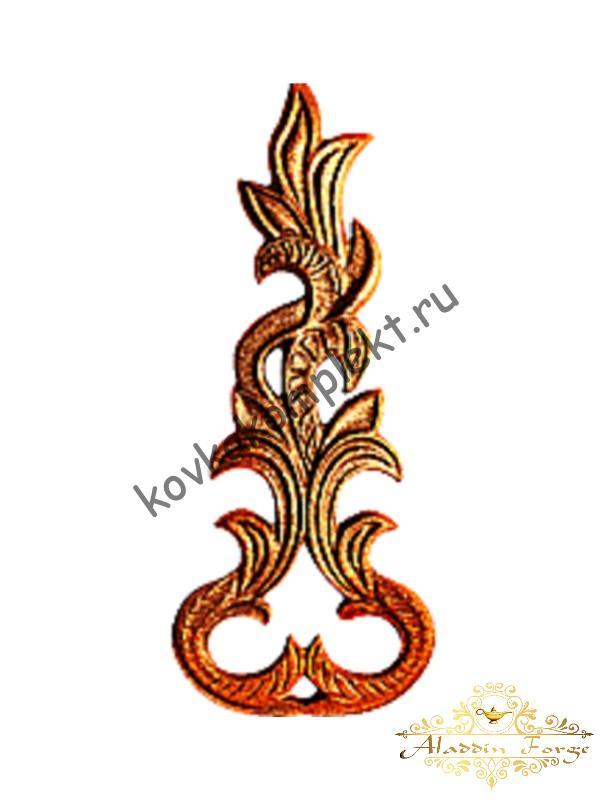 Декоративный элемент 12 х 30 см (арт. 3305)