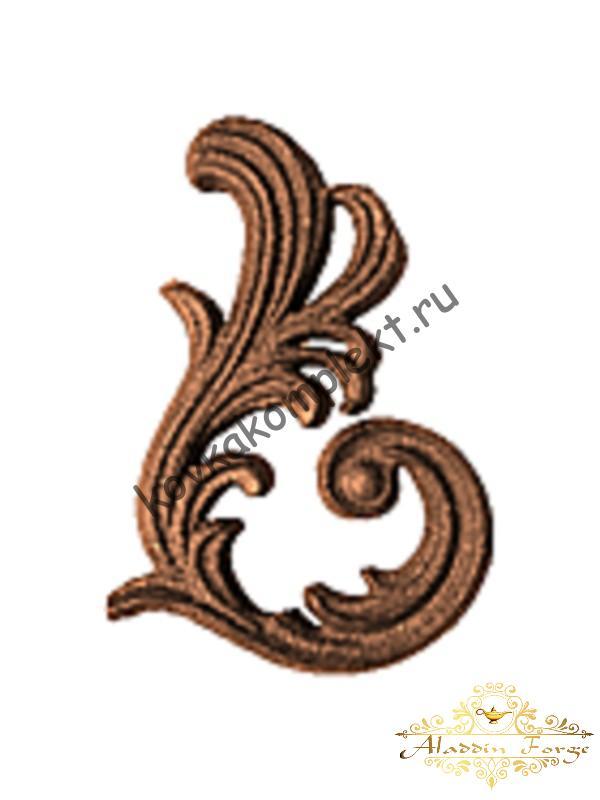 Декоративный элемент 12,5 х 18,5 см (арт. 3255/1)