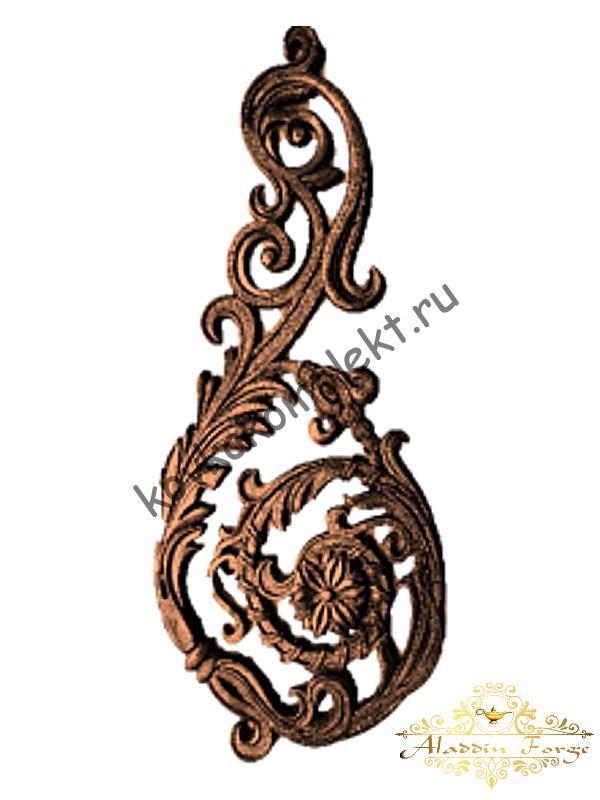 Декоративный элемент 30 х 65 см (арт. 1518)
