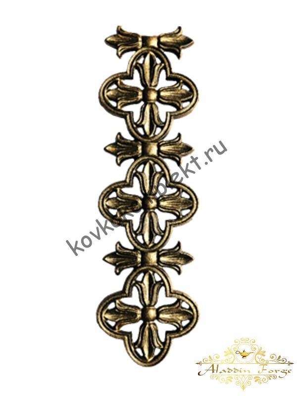 Декоративный элемент 41 х 12 см (арт. 3308)