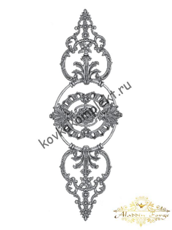 Декоративная накладка 32,5 х 94,5 см (арт. 4498)