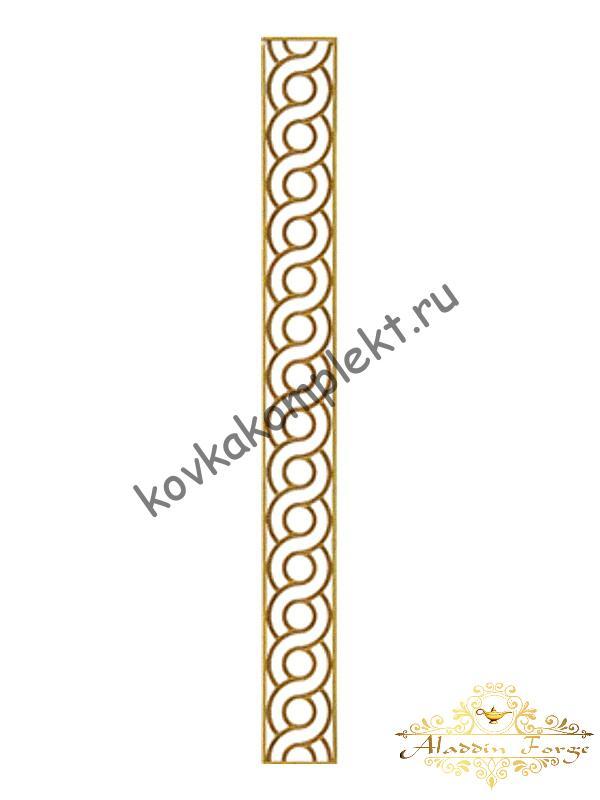 Декоративный узор (полоса) 195 х 20 см (арт. 6863)