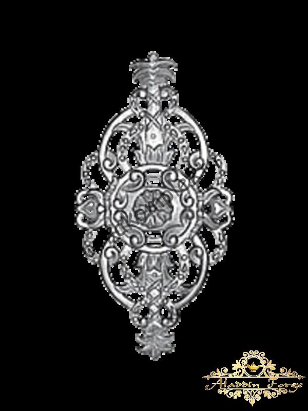 Декоративная накладка 21 х 41см (арт. 4429)