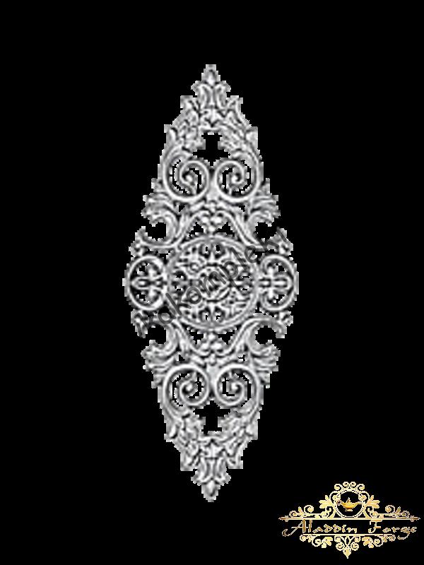 Декоративная накладка 22,5 х 58 см (арт. 4428)