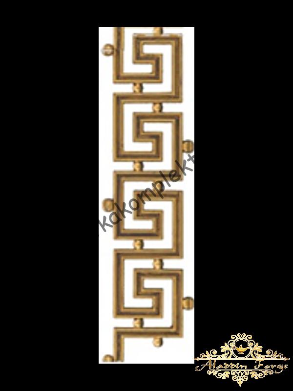 Декоративный узор (полоса) 43 х 12 см (арт. 4040)
