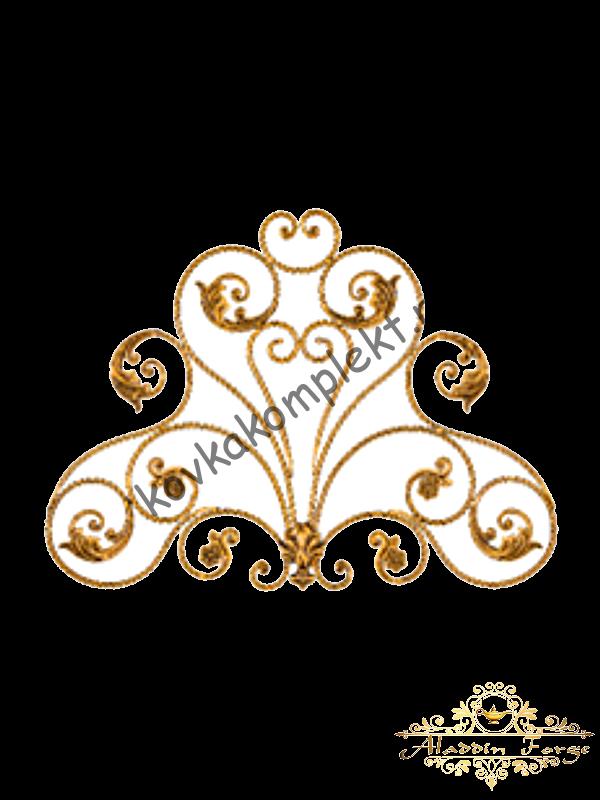 Розетка кованая 90 х 120 см (арт. 8110)
