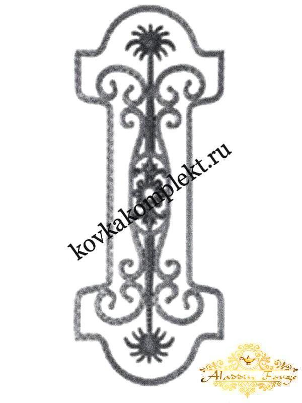 Балясина 15 х 75 см (арт. 1712)