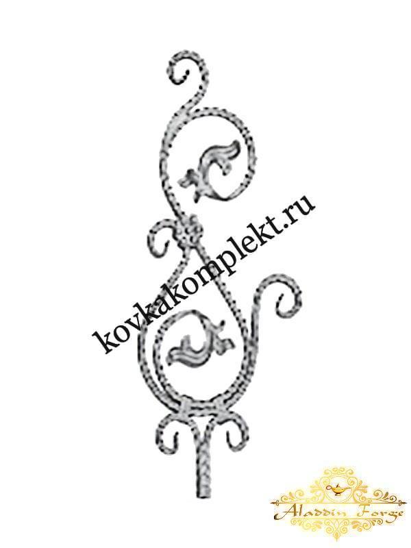 Балясина 33 х 75 см (арт. 1741)