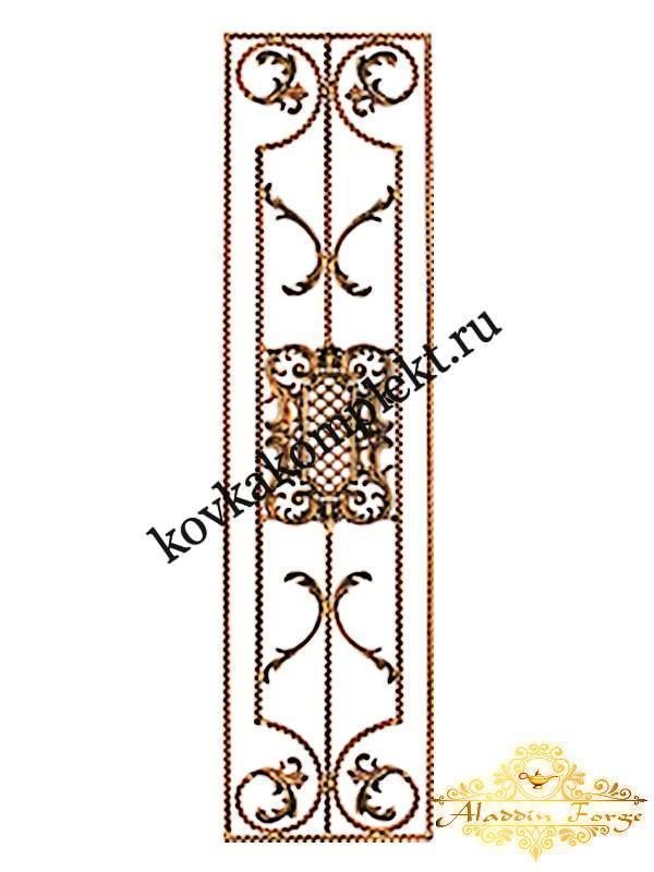 Панель декоративная 40 х 160 см (арт. 6152)