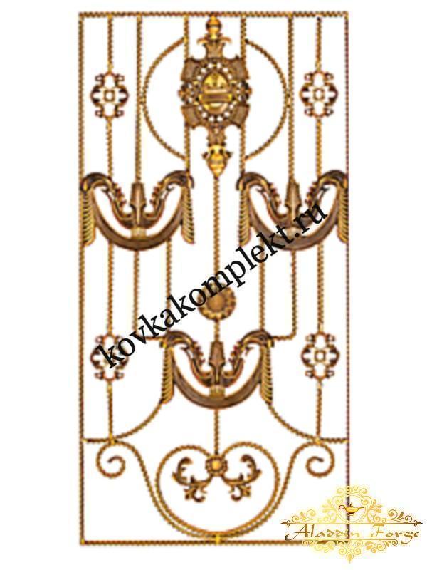 Панель декоративная 80 х 160 см (арт. 6117)