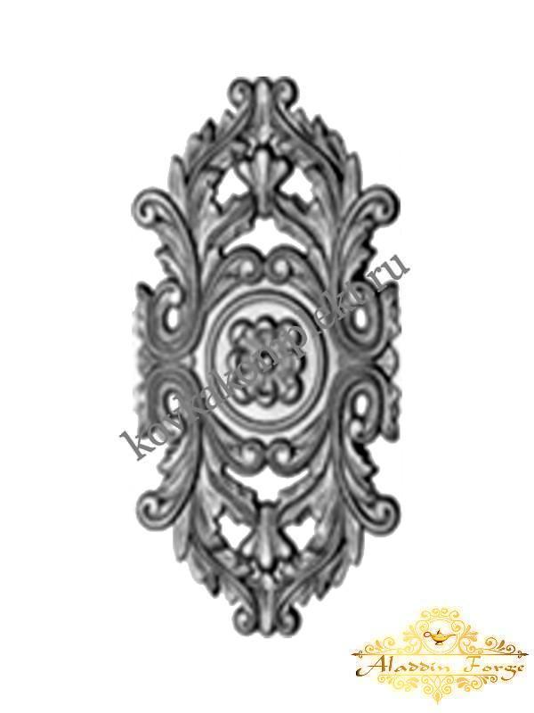 Декоративная накладка 22 х 40 см (арт. 4441)