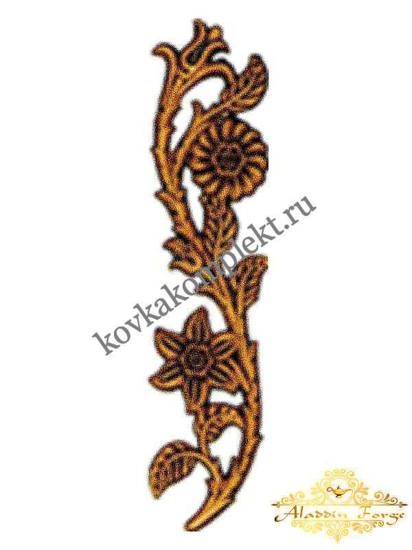Декоративная накладка 6 х 26 см (арт. 4480)