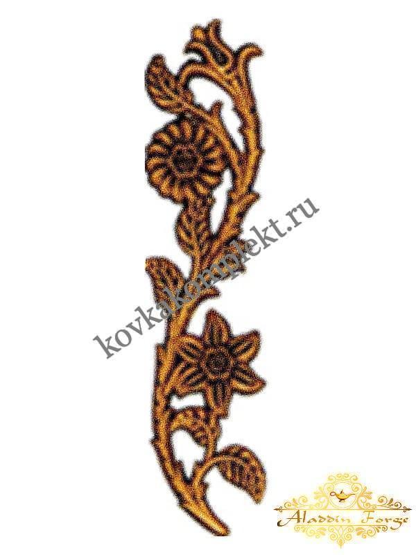 Декоративная накладка 6 х 26 см (арт. 4480/1)