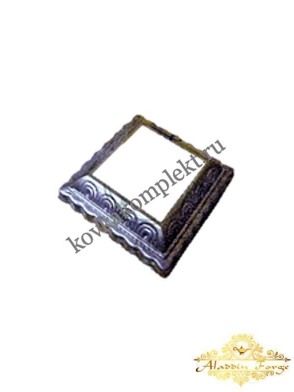 Декоративное основание 9,5 х 2,5 см (арт. 7956)