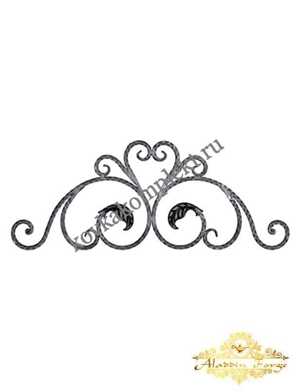 Декоративный элемент 80 х 50 см (арт. 8630)